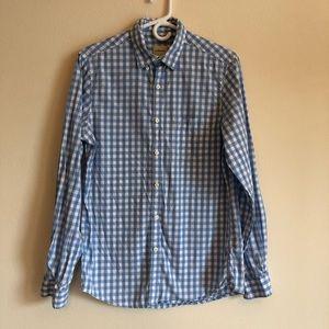 G.H Bass&Co | Men's Blue Gingham Shirt